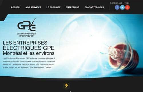Entreprises Electriques G P E Inc