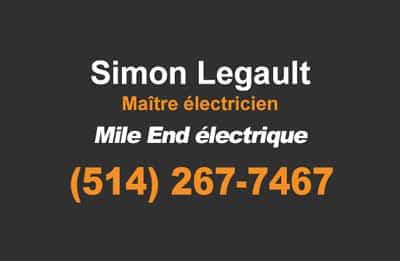 electricien mile end rosemont petite italie mont-royal